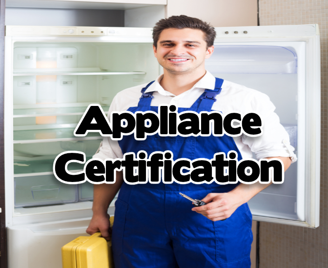 Appliance Repair Certification and