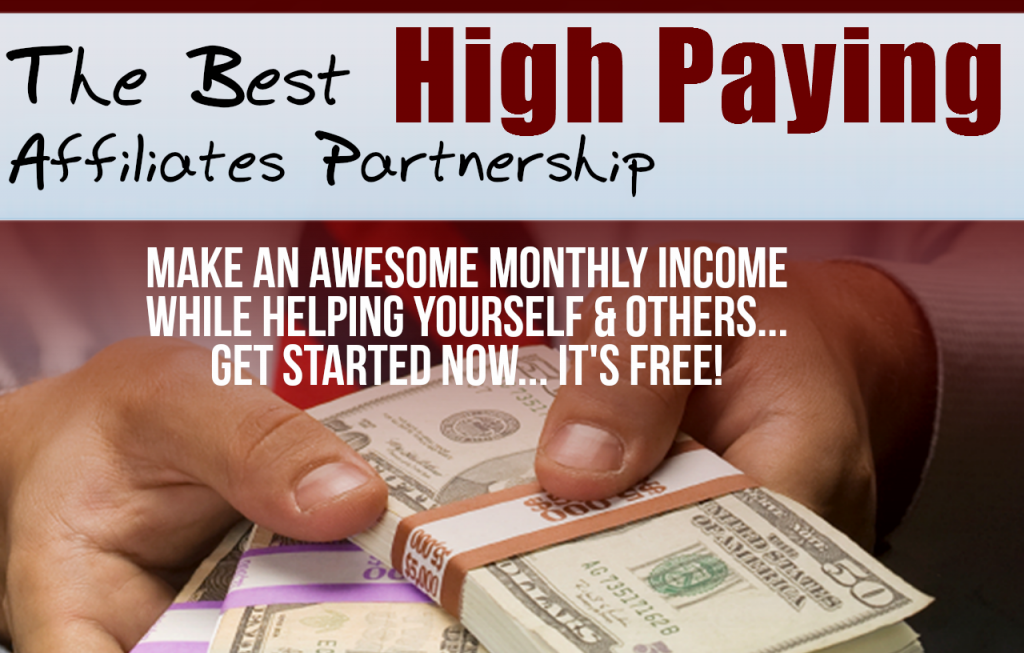 Affiliates Marketing Programs High Paying Commissions